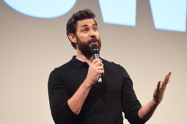 John Krasinski attends the 'A Quiet Place' Premiere 2018 SXSW Conference and Festivals at Paramount Theatre on March 9, 2018 in Austin, Texas.