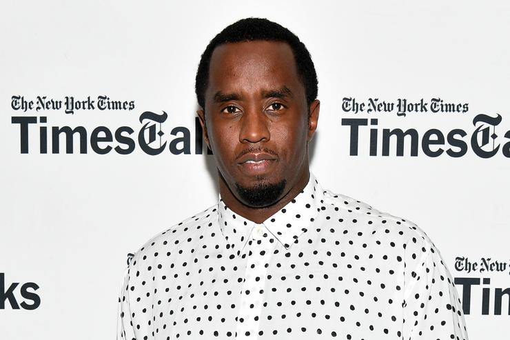 Sean 'Diddy' Combs attends TimesTalks Presents: An Evening with Sean 'Diddy' Combs at The New School on September 20, 2017 in New York City.