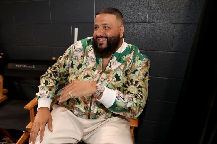 DJ Khaled attends the 2018 iHeartRadio Music Awards which broadcasted live on TBS, TNT, and truTV at The Forum on March 11, 2018 in Inglewood, California.