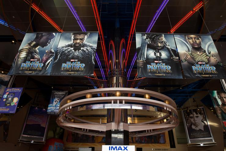 IMAX, Regal Entertainment Group, Walt Disney Picture and Marvel Studios hosted an advanced IMAX screening of 'Black Panther' for the Boys & Girls Club of Greater Houston at Edwards Houston Marq'e Stadium 23 & IMAX on February 15, 2018 in Houston, Texas.