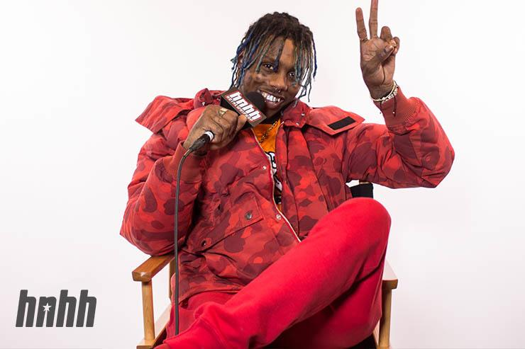 Famous Dex at the HNHH Office