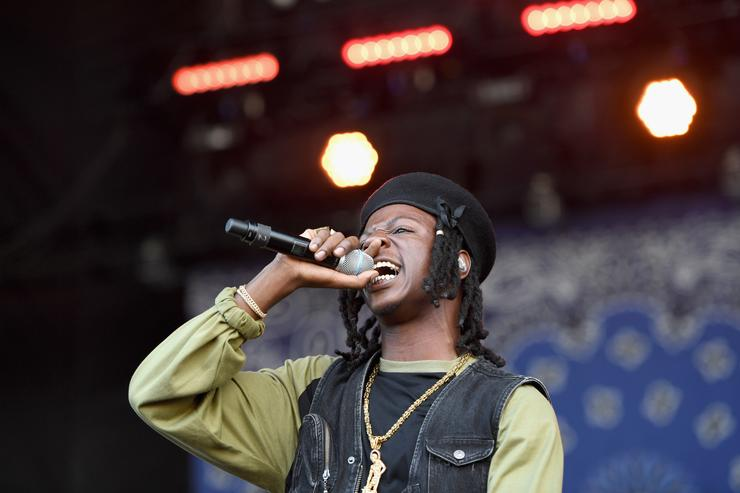 Joey Bada$$ performs onstage during the Meadows Music And Arts Festival - Day 1 at Citi Field on September 15, 2017 in New York City