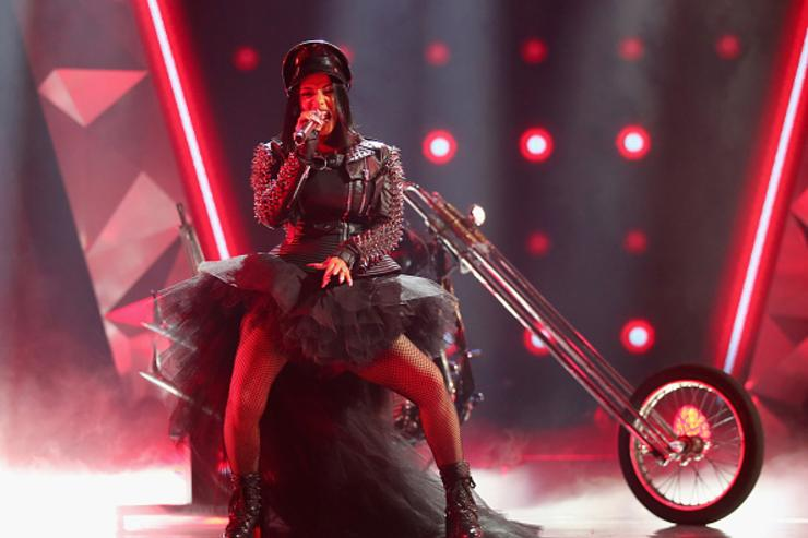 Cardi B performs onstage during the 2018 iHeartRadio Music Awards which broadcasted live on TBS, TNT, and truTV at The Forum on March 11, 2018 in Inglewood, California.