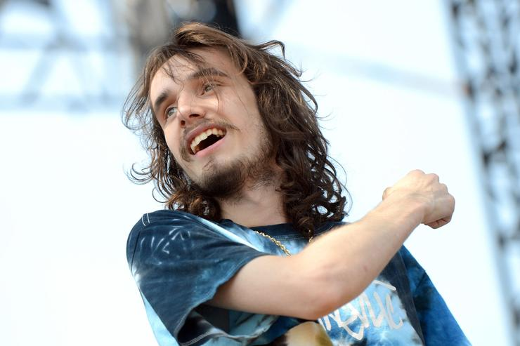 Pouya performs onstage during the Day N Night Festival at Angel Stadium of Anaheim on September 10, 2017 in Anaheim, California
