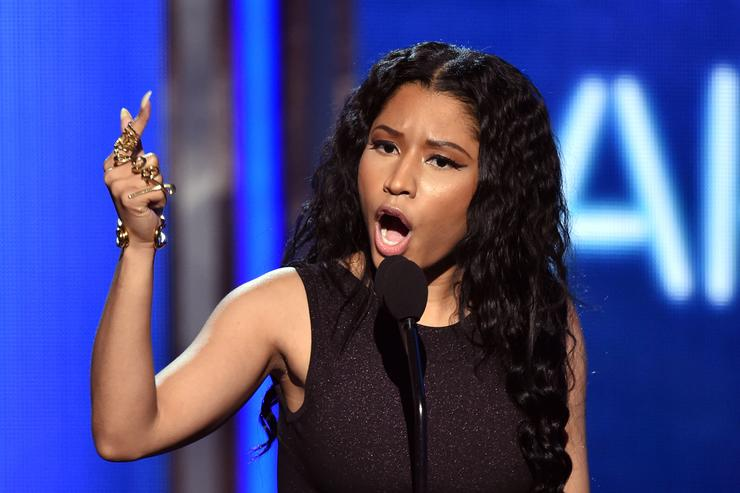 Nicki Minaj accepts Best Female Hip-Hop Artist onstage during the BET AWARDS '14 at Nokia Theatre L.A. LIVE on June 29, 2014 in Los Angeles, California