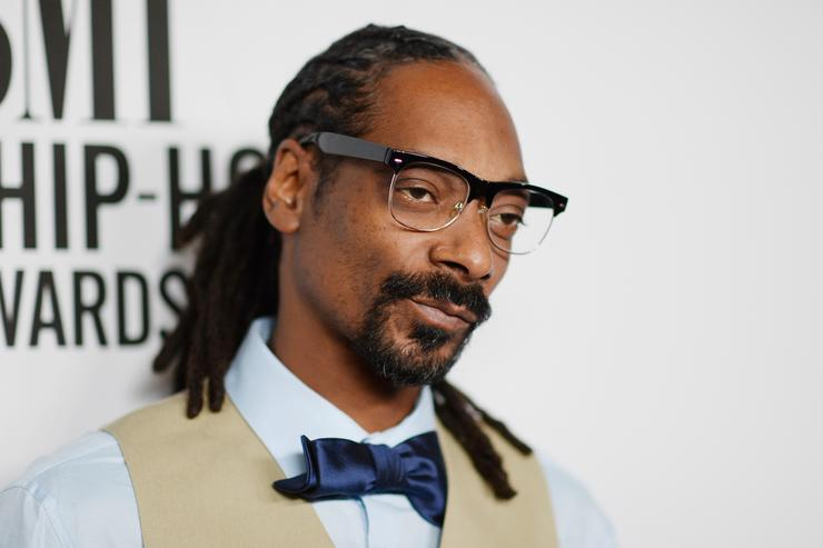 Snoop Dogg attends the 2015 BMI R&B/Hip-Hop Awards at Saban Theatre on August 28, 2015 in Beverly Hills, California