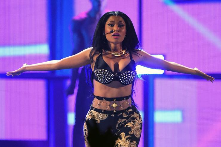 Nicki Minaj performs during the 2014 iHeartRadio Music Festival at the MGM Grand Garden Arena on September 19, 2014 in Las Vegas, Nevada
