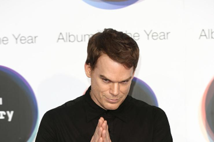 Actor Michael C Hall poses for a photo at the Hyundai Mercury Prize 2016 at Eventim Apollo on September 15, 2016 in London, England.