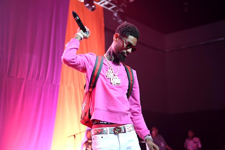 PnB Rock performs onstage at the Main Stage Performances during the 2017 BET Experience at Los Angeles Convention Center on June 24, 2017 in Los Angeles, California