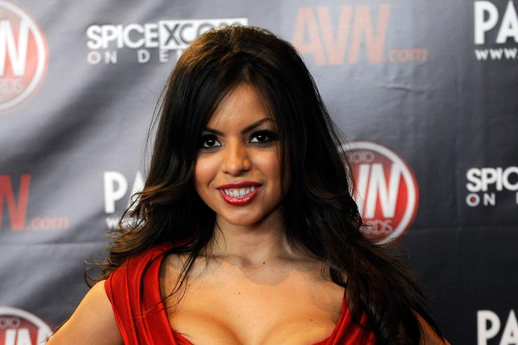 Adult film actress Yurizan Beltran arrives at the 27th annual Adult Video News Awards Show at the Palms Casino Resort January 9, 2010 in Las Vegas, Nevada.