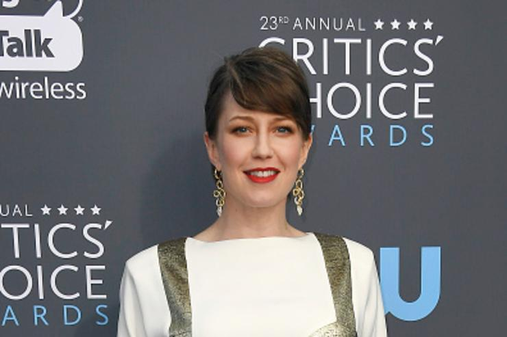 Actor Carrie Coon attends The 23rd Annual Critics' Choice Awards at Barker Hangar on January 11, 2018 in Santa Monica, California.