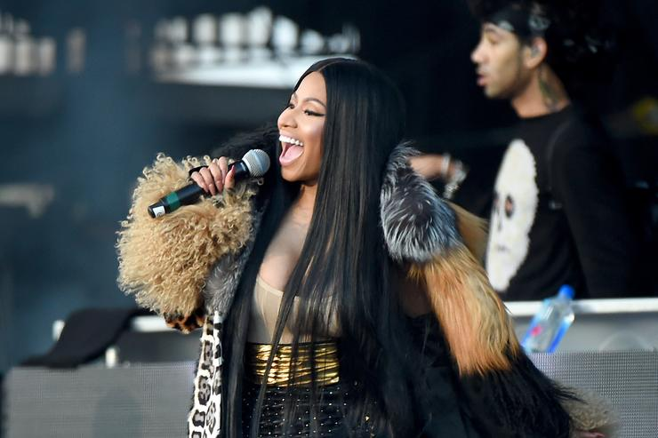 Nicki Minaj performs onstage during the Meadows Music and Arts Festival - Day 2 at Citi Field on September 16, 2017 in New York City