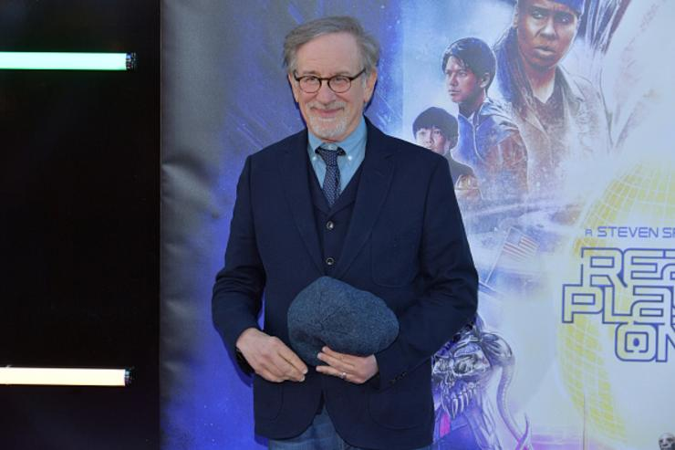 Steven Spielberg attends the Premiere of Warner Bros. Pictures' 'Ready Player One' at Dolby Theatre on March 26, 2018 in Hollywood, California.