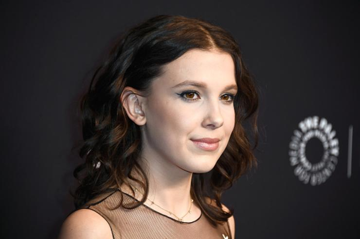Millie Bobby Brown attends The Paley Center for Media's 35th Annual PaleyFest Los Angeles - 'Stranger Things' at Dolby Theatre on March 25, 2018 in Hollywood, California.