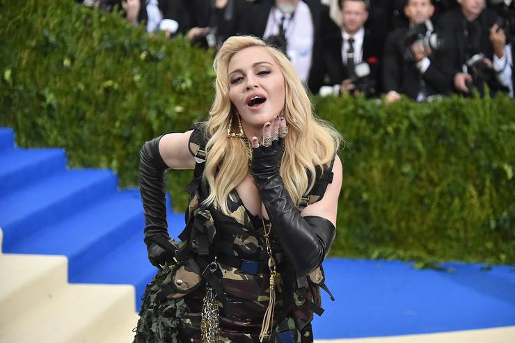 Madonna attends the 'Rei Kawakubo/Comme des Garcons: Art Of The In-Between' Costume Institute Gala at Metropolitan Museum of Art on May 1, 2017 in New York City