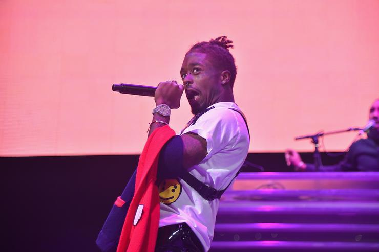 Lil Uzi Vert performs onstage during 105.1's Powerhouse 2017 at the Barclays Center on October 26, 2017 in the Brooklyn, New York City