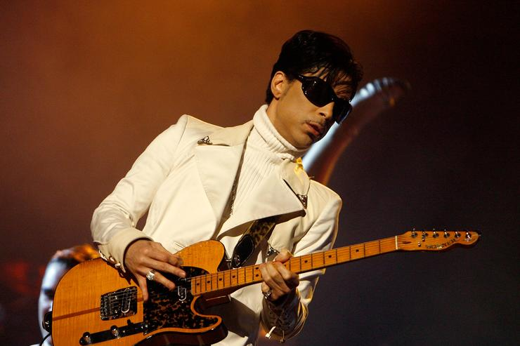 Singer Prince performs onstage during the 2007 NCLR ALMA Awards held at the Pasadena Civic Auditorium on June 1, 2007 in Pasadena, California.