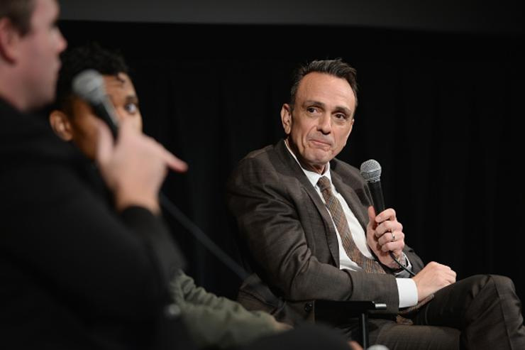 Actor Hank Azaria speaks onstage the Vulture + IFC celebrate the Season 2 premiere of 'Brockmire' at Walter Reade Theater on April 18, 2018 in New York City.