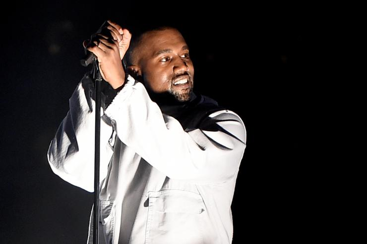 Kanye West performs during 102.7 KIIS FM's Wango Tango at StubHub Center on May 9, 2015 in Los Angeles, California