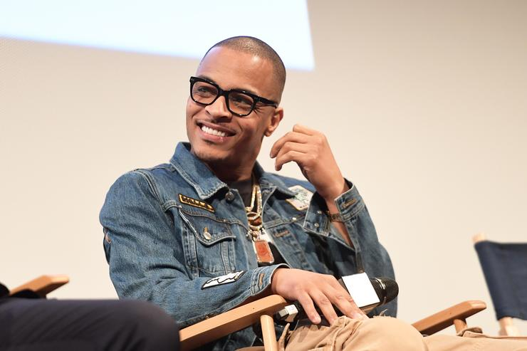 T.I. attends the 'Rapture' Premiere 2018 SXSW Conference and Festivals at Paramount Theatre on March 17, 2018 in Austin, Texas