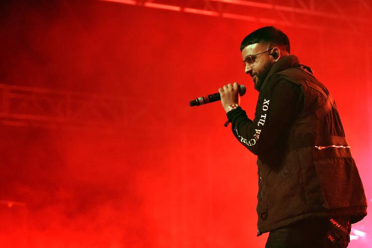 Nav performs at the Sahara Tent during day 2 of the 2017 Coachella Valley Music & Arts Festival (Weekend 2) at the Empire Polo Club on April 22, 2017 in Indio, California