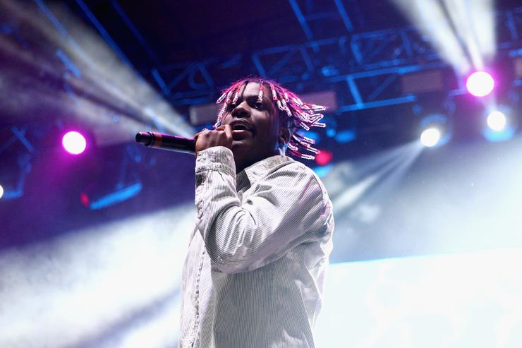 Lil Yachty performs on the Stage during day 2 of Camp Flog Gnaw Carnival 2017 at Exposition Park on October 29, 2017 in Los Angeles, California.