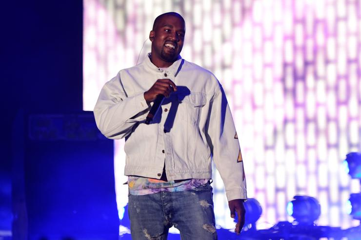 Hip-hop artist Kanye West performs onstage during day 1 of the 2016 Coachella Valley Music & Arts Festival Weekend 1 at the Empire Polo Club on April 15, 2016 in Indio, California