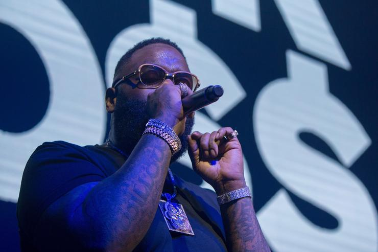 Rick Ross preforms at The Pourhouse on February 1, 2018 in Minneapolis, Minnesota