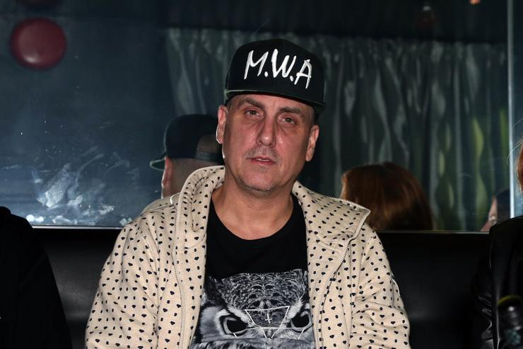 Music producer Mike Dean attends SOB's on October 21, 2015, in New York City