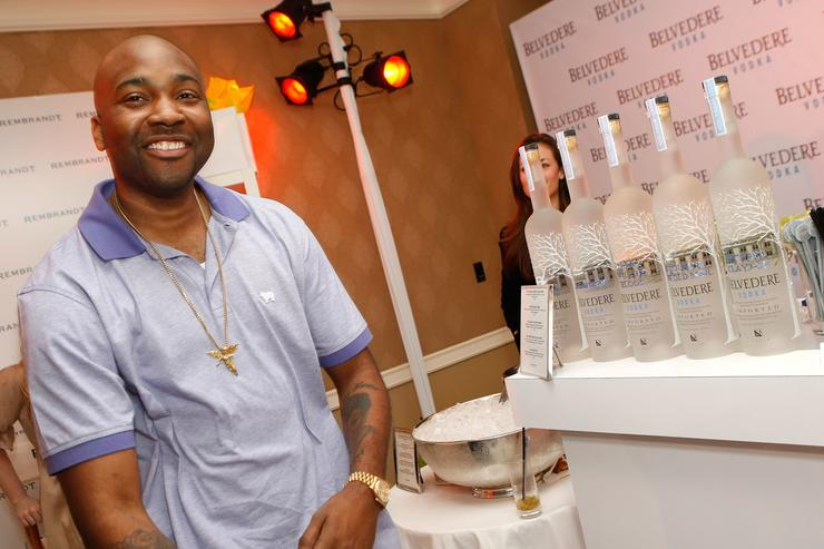 Rapper GLC attends The Belvedere Luxury Lounge in honor of the 80th Academy Awards featuring Belvedere Vodka Best Picture Nominee-themed cocktails, held at the Four Seasons Hotel on February 23, 2008 in Beverly Hills, California.
