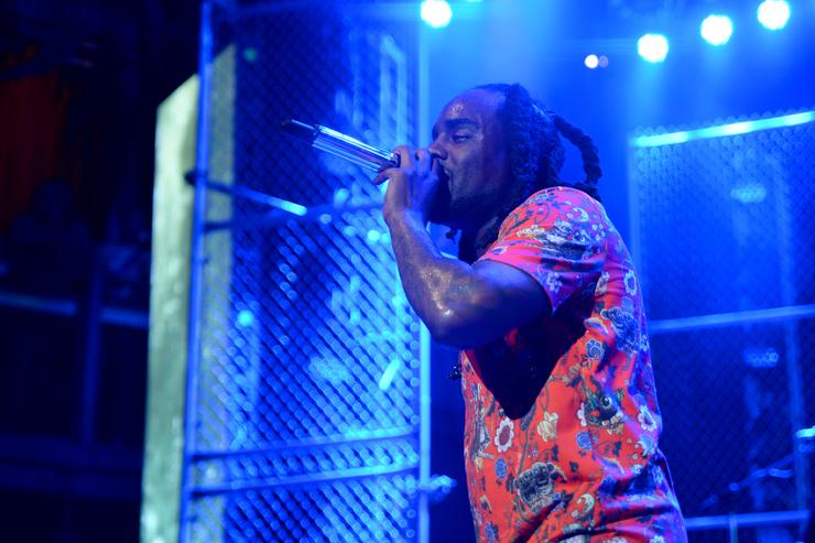 Wale performs onstage at the BETX On The Road: DMV Concert at The Fillmore Silver Spring on July 26, 2017 in Silver Spring, Maryland.
