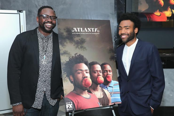 Bryan Tyree Henry & Donald Glover