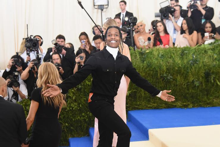 A$AP Rocky attends the 'Rei Kawakubo/Comme des Garcons: Art Of The In-Between' Costume Institute Gala at Metropolitan Museum of Art on May 1, 2017 in New York City.