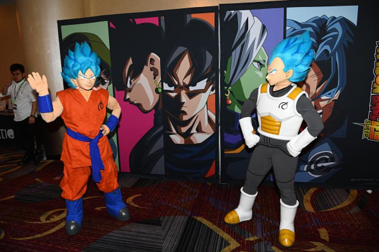 Guests attend the Dragon Ball Super NYCC Fan Meetup on October 7, 2017 in New York City.
