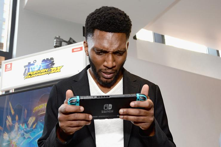 Actor Yusuf Gatewood from the CW series 'The Originals' stopped by Nintendo at the TV Insider Lounge to check out Nintendo Switch during Comic-Con International at Hard Rock Hotel San Diego on July 22, 2017 in San Diego, California.