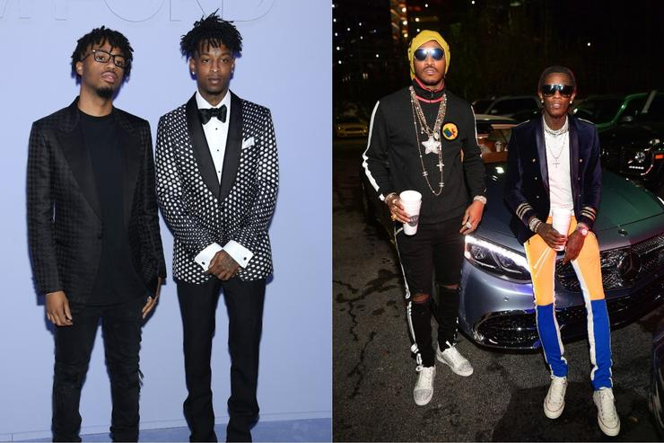 21 Savage & Metro Boomin, Young Thug & Future