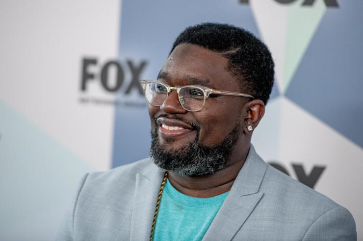 Lil Rel Howery attends the 2018 Fox Network Upfront at Wollman Rink, Central Park on May 14, 2018 in New York City.