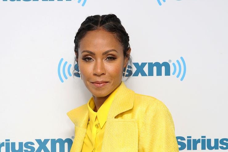 Jada Pinkett Smith during Hoda Kotb Hosts A Leading Ladies Event With Jada Pinkett Smith For SiriusXM Today Show Radio at SiriusXM Studios on July 19, 2017 in New York City.