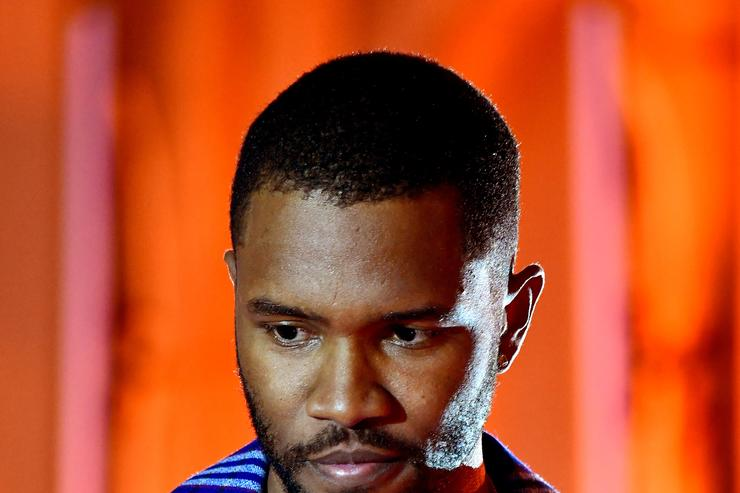 Frank Ocean onstage at Spotify's Inaugural Secret Genius Awards hosted by Lizzo at Vibiana on November 1, 2017 in Los Angeles, California.