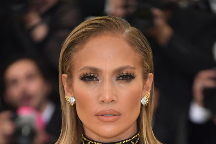 Jennifer Lopez attends the Heavenly Bodies: Fashion & The Catholic Imagination Costume Institute Gala at The Metropolitan Museum of Art on May 7, 2018 in New York City.