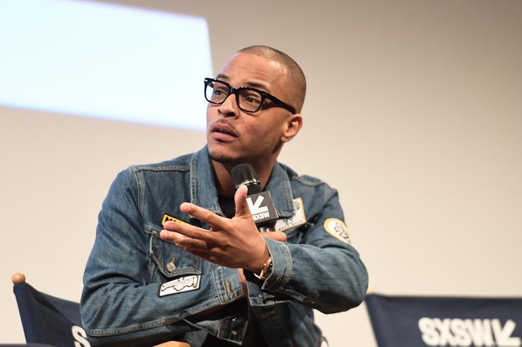 T.I. attends the 'Rapture' Premiere 2018 SXSW Conference and Festivals at Paramount Theatre on March 17, 2018 in Austin, Texas.
