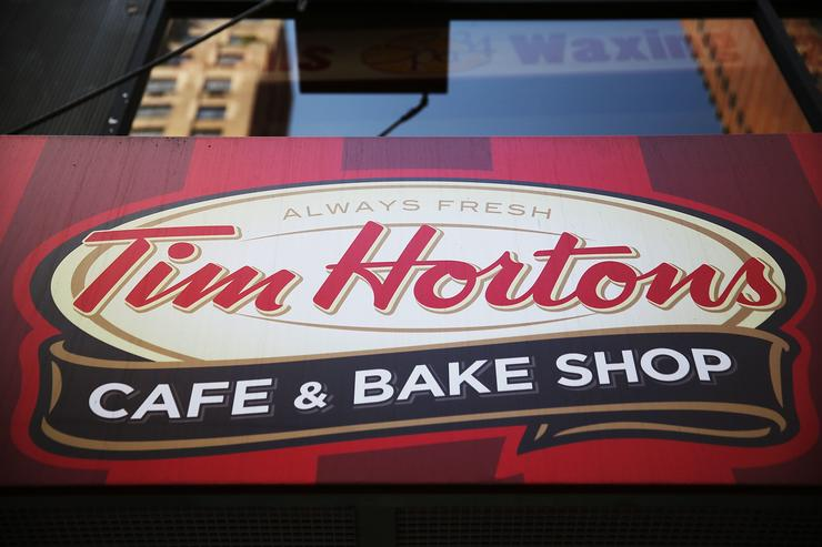 Woman detained after feces-throwing incident at Tim Hortons