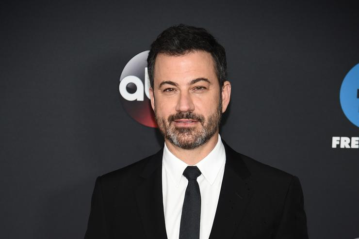 TV Personality Jimmy Kimmel attends during 2018 Disney, ABC, Freeform Upfront at Tavern On The Green on May 15, 2018 in New York City.