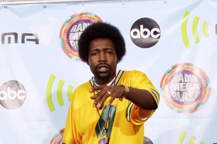 Singer Afroman attends the 2001 Radio Music Awards at the Aladdin Resort and Casino October 26, 2001 in Las Vegas, NV.