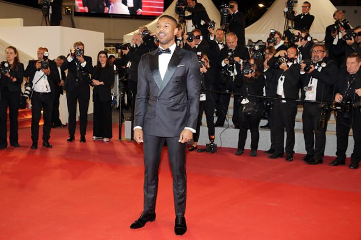 Actor Michael B. Jordan attends the screening of 'Farenheit 451' during the 71st annual Cannes Film Festival at Palais des Festivals on May 12, 2018 in Cannes, France.