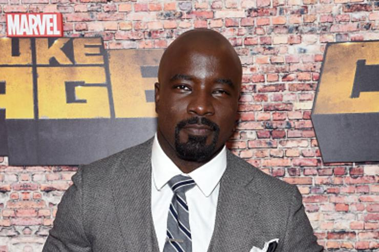 Mike Colter attends the 'Luke Cage' New York Premiere at AMC Magic Johnson Harlem on September 28, 2016 in New York City.