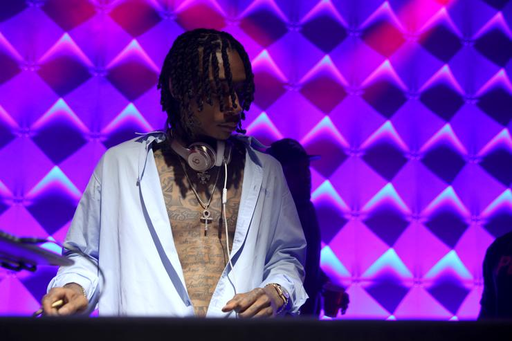 Wiz Khalifa performs at the WeWork San Francisco Creator Awards at Palace of Fine Arts on May 10, 2018 in San Francisco, California