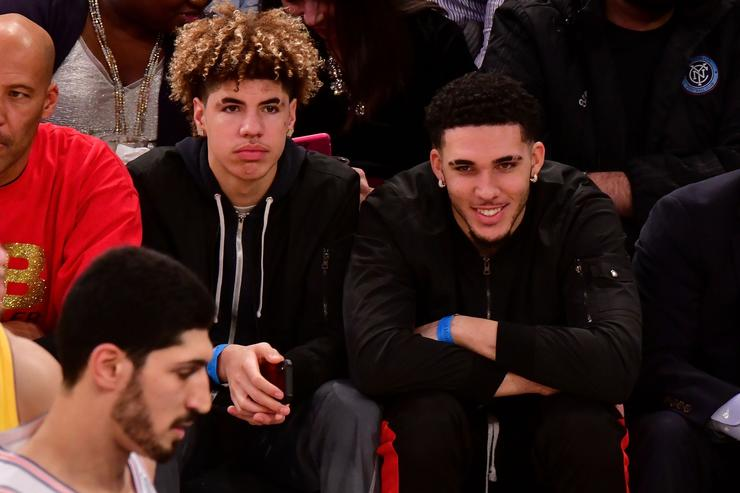 LiAngelo Ball will workout with brother Lonzo's team