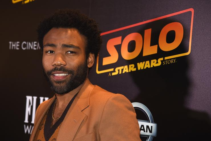 Donald Glover attends 'Solo: A Star Wars Story' New York Premiere on May 21, 2018 in New York City.