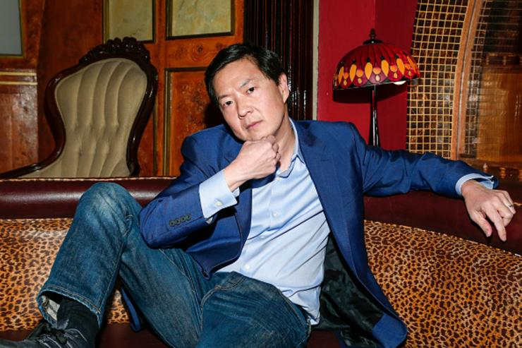 Ken Jeong poses back stage at the Dr. Ken Comedy Night at The Laugh Factory on April 20, 2016 in West Hollywood, California.
